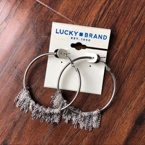 Lucky silver earrings